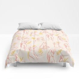 Women bodies Comforters