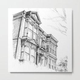 SF House Metal Print