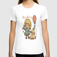 happy birthday T-shirts featuring Happy Birthday by susana