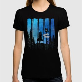 Any Road Will Get You There - Alice In Wonderland T-shirt