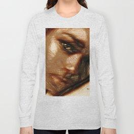 Portrait of Innocence Long Sleeve T-shirt