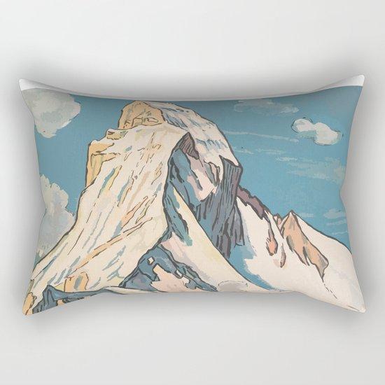 Night Mountains No. 45 Rectangular Pillow
