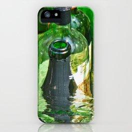 Bottles in water iPhone Case