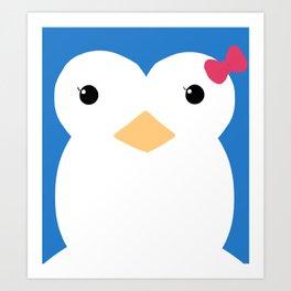 Penguin 3 Art Print