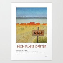 High Plains Drifter (1973) Art Print