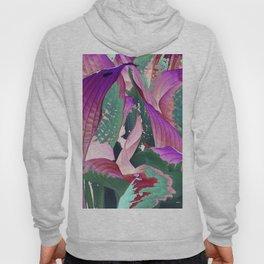 519 - Abstract Garden Design Hoody