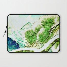 The Winter Green Laptop Sleeve
