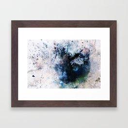Behind Blue Eyes Framed Art Print