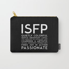 ISFP (black version) Carry-All Pouch