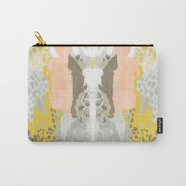Upton - Abstract painting perfect for dorm room phone case abstract art and feminine abstract art Carry-All Pouch