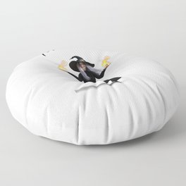 """Halloween """"Witches be Bitchin"""" Floor Pillow"""
