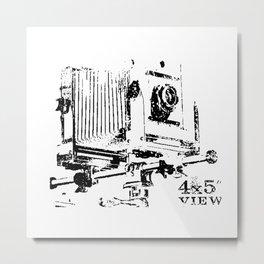 4x5 View Metal Print