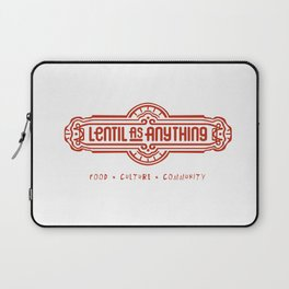 Lentil as Anything - Food, Culture, Community Laptop Sleeve