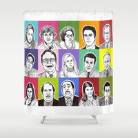 office Shower Curtains featuring The Office by turddemon