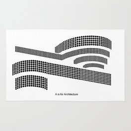 Frank - A is for Architecture Rug