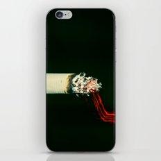 Long Exposure Cigarette iPhone & iPod Skin