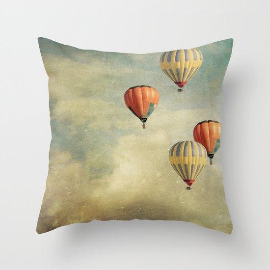 Tales Of Far Away Throw Pillow