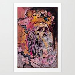 Waxing Art Print