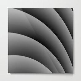 Focal Curve Metal Print
