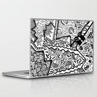 memphis Laptop & iPad Skins featuring Memphis by Andrea Cincotta