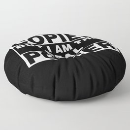 I Am Porter Funny Personal Personalized Fun Floor Pillow