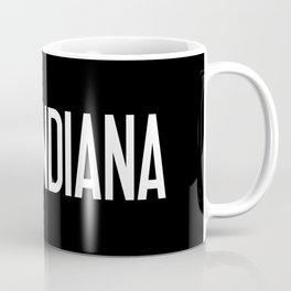 Indiana: Hoosier Flag & Indiana Coffee Mug