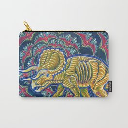 As Awesome As Three Unicorns Carry-All Pouch