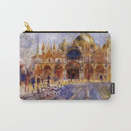 The Piazza San Marco Venice Auguste Renoir Carry-All Pouch