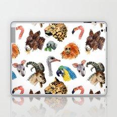 Really Random Zoo Animals Laptop & iPad Skin