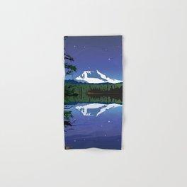 Mt Adams and Stars and Tree Hand & Bath Towel