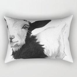 SMILE GOAT Rectangular Pillow