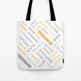 Emmanuel 4 Tote Bag