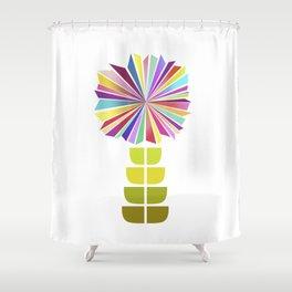 70ies flower No. 2 Shower Curtain