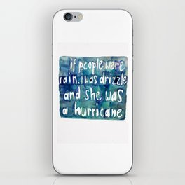 Drizzle / Hurricane iPhone Skin