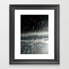 touching space Framed Art Print