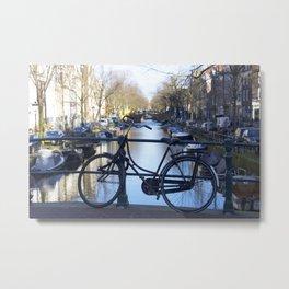 Amsterdam canal 1 Metal Print