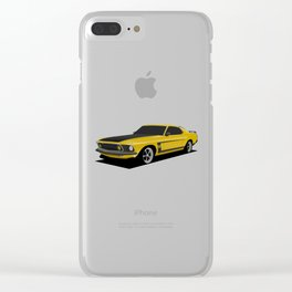 Mustang Boss Clear iPhone Case