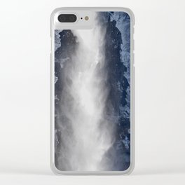 Yosemite Falls - Icy Morning Clear iPhone Case