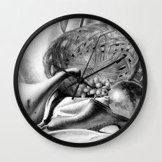 Objects in Motion Wall Clock