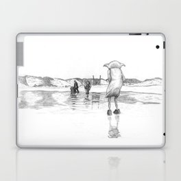 """""""Death of a Free Elf"""" - Dobby in Deathly Hallows Laptop & iPad Skin"""