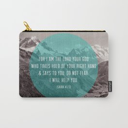Isaiah 41:13 Carry-All Pouch