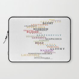 Word Inventions William Shakespeare Quote Art - Typography Laptop Sleeve