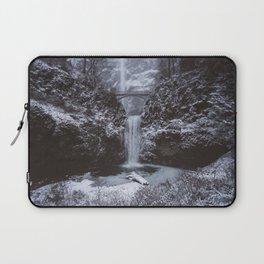 Winterland Waterfall #society6 Laptop Sleeve