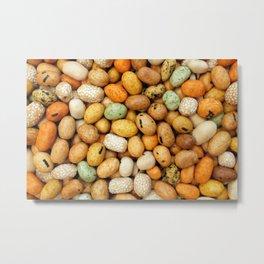 Crunchy seaweed peanut crackers Metal Print