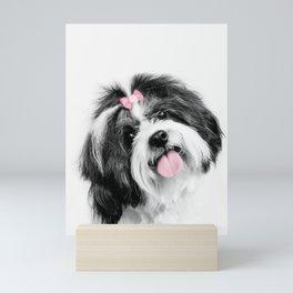 Dog print, Shih Tzu Print Mini Art Print