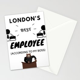London's Best Employee Stationery Cards