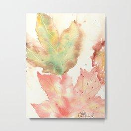 Fall Leaves 2016 Metal Print