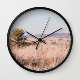 West Texas Vista Wall Clock