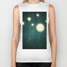 Moon & Stars 03 Biker Tank