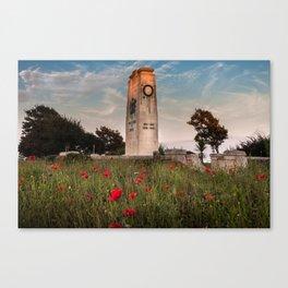 Swansea cenotaph memorial Canvas Print